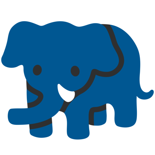 Elephant Emoji Though known as very kind animals, elephants maybe actually dangerous — just like other huge creatures represented by 🦏 rhinoceros emoji. elephant emoji