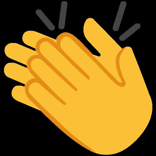 Resultado de imagen de dibujo de palmas aplaudiendo