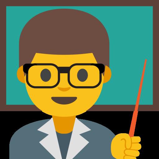 👨🏫 Docente Hombre Emoji