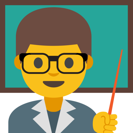 Lehrer Emoji