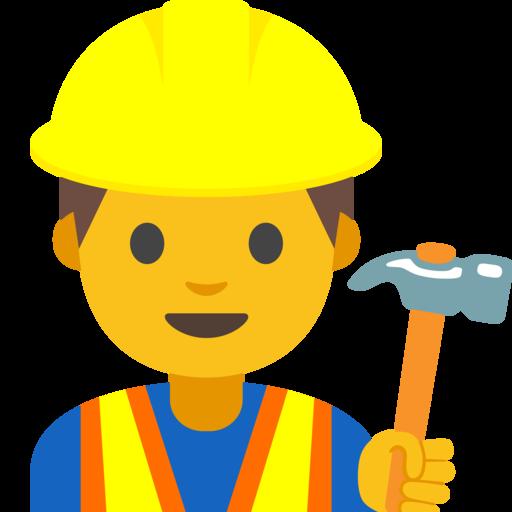 Bauarbeiter In Emoji