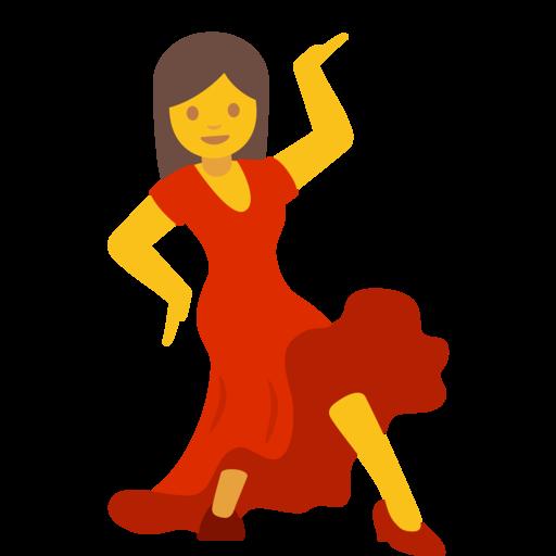woman dancing emoji