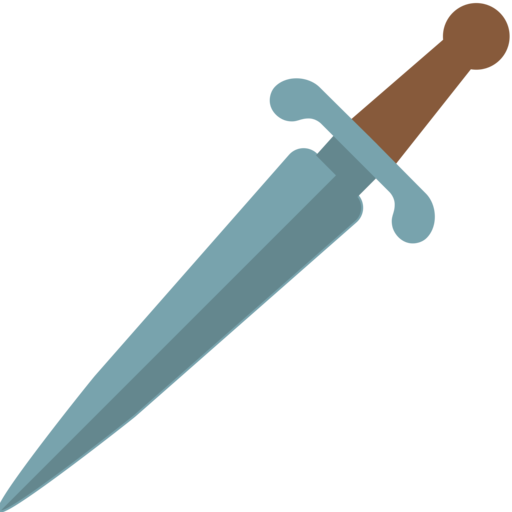 🗡️ Dagger Emoji