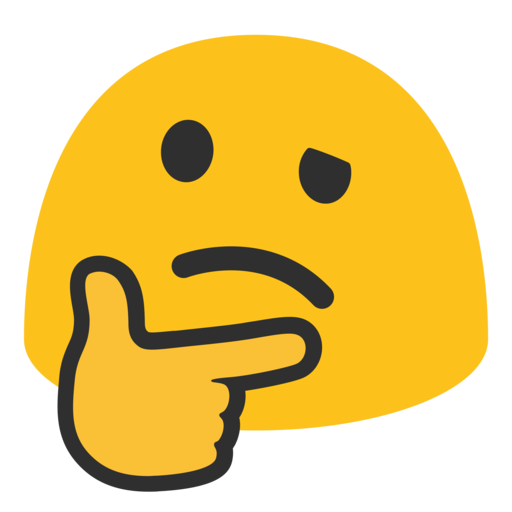 🤔 Thinking Face Emoji