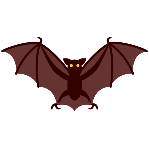 🦇 Bat Emoji
