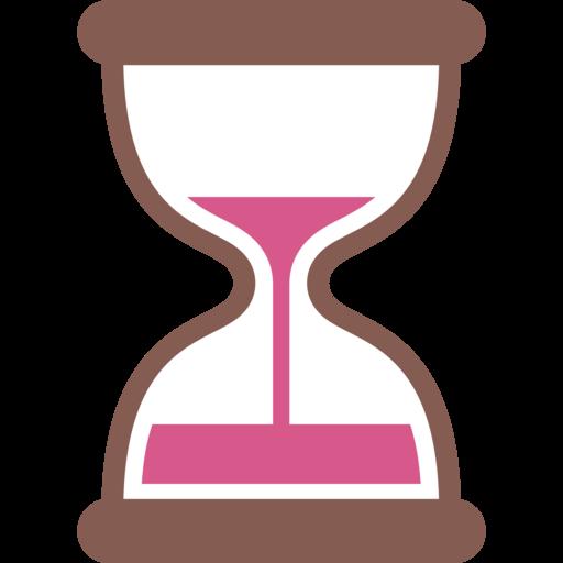 Reloj De Arena Con Tiempo Emoji