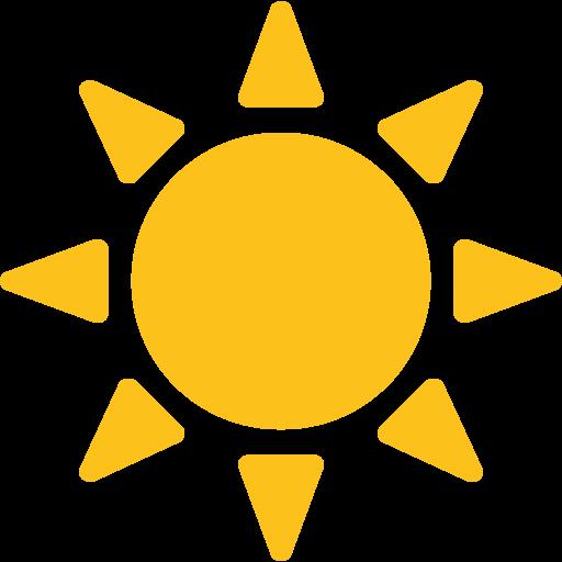 Image result for Sun emoji