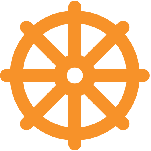Wheel Of Dharma Emoji