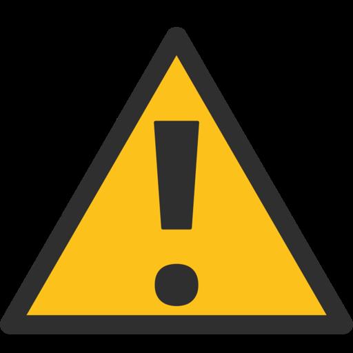 ⚠️ Symbole D'avertissement Emoji