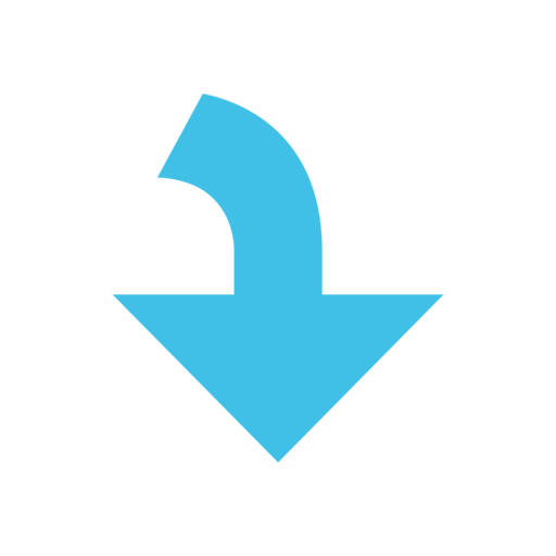 ⤵️ Right Arrow Curving Down Emoji