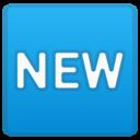 Emoji: 🆕 Android Oreo; U+1F195
