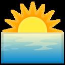 Android Oreo; U+1F305; Emoji