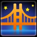 Android Oreo; U+1F309; Emoji