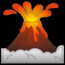 Android Oreo; U+1F30B; Emoji