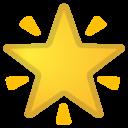 Android Oreo; U+1F31F; Emoji