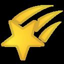 Android Oreo; U+1F320; Emoji