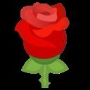 Android Oreo; U+1F339; Emoji