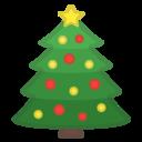 Emoji: 🎄 Android Oreo; U+1F384