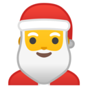 Android Oreo; U+1F385; Father Christmas Emoji