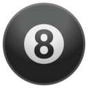 Android Oreo; U+1F3B1; Emoji