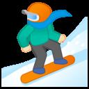 Emoji: 🏂🏻 Android Oreo; U+1F3C2 U+1F3FB