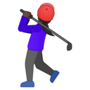 Emoji: 🏌🏿♀️ Android Oreo; U+1F3CC U+1F3FF U+200D U+2640 U+FE0F