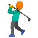Emoji: 🏌 Android Oreo; U+1F3CC