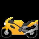 Emoji: 🏍 Android Oreo; U+1F3CD