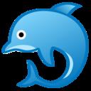 Android Oreo; U+1F42C; Emoji