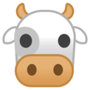 Android Oreo; U+1F42E; Emoji