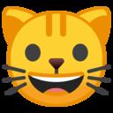 Android Oreo; U+1F431; Emoji