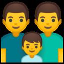 Android Oreo; U+1F468 U+200D U+1F468 U+200D U+1F466; Emoji