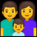 Android Oreo; U+1F46A; Emoji