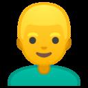 Android Oreo; U+1F471; Emoji