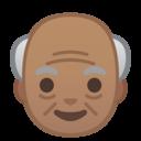 Emoji: 👴🏽 Android Oreo; U+1F474 U+1F3FD