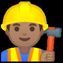 Emoji: 👷🏽 Android Oreo; U+1F477 U+1F3FD