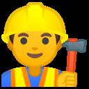 Android Oreo; U+1F477; Emoji