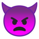 Android Oreo; U+1F47F; Emoji