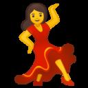Android Oreo; U+1F483; Emoji