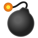 Android Oreo; U+1F4A3; Emoji