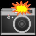 Android Oreo; U+1F4F8; Emoji