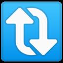 Android Oreo; U+1F503; Emoji