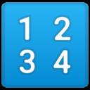 Android Oreo; U+1F522; Emoji