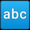 Android Oreo; U+1F524; Emoji