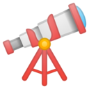 Android Oreo; U+1F52D; Emoji