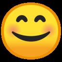 Android Oreo; U+1F60A; Emoji