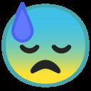 Android Oreo; U+1F613; Emoji