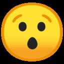 Android Oreo; U+1F62F; Emoji