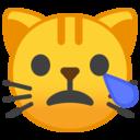 Android Oreo; U+1F63F; Emoji