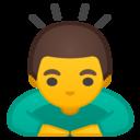 Android Oreo; U+1F647; Emoji